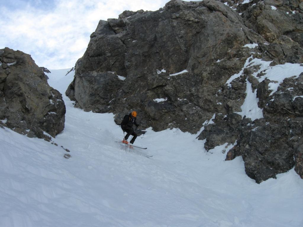 Cibiroles (Tete des) rampa e couloir NO 2011-02-26