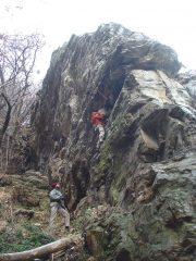 il canyon a sx del settore pablo