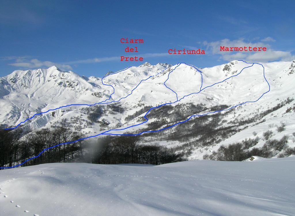 Itinerario Monte Ciriunda