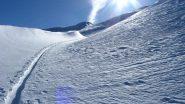 Valloncello dopo lo skilift