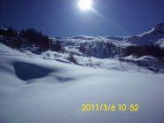 Splendore quasi invernale nel vallone del Pintas