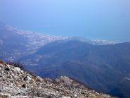 Vista su Pietra Ligure