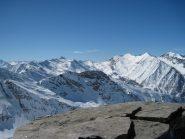 Panorama sulla testata della Val Germanasca