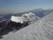 4.Cialancia e cresta fino al monte La Piastra.