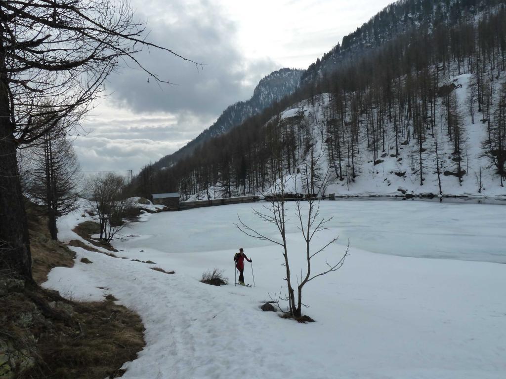 Valauretta (Cima de la) Da Les Mesches 2011-03-12