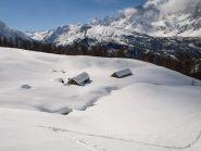 Alpe Fontane scendendo
