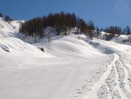 Si tiene la sinistra presso Alpe Fontane