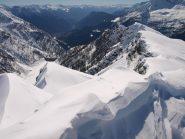 Panorama da Pizzo Troggi (2309 m): a destra la più bassa Corona Troggi