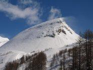 Il Monte del Sangiatto spazzato dal forte vento