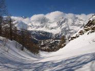 La valletta poco sopra Alpe Fontane