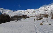 Nei pressi dell'Alpe Bianca