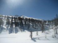 in salita (dall'alpe Devero)