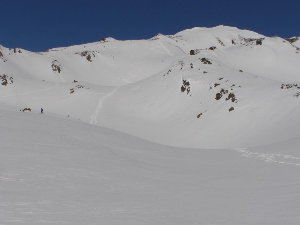 Ponsonniere (Crete de la) da Le Pont de l'Alpe 2011-03-20