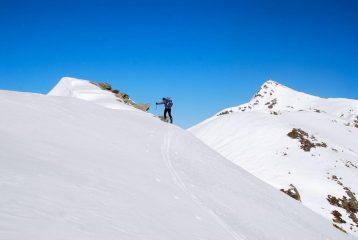 arrivo sul Cavalpiccolo 2190 m