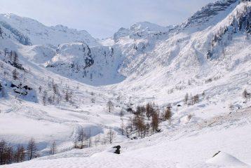Vallone del Gravio all'Alpe Mustione
