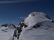 la cima dalla vetta scialpinistica