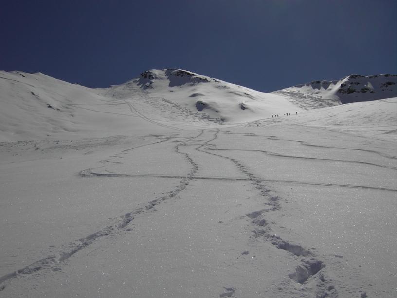 11.salita a dx,discesa a sx,neve spettacolare.