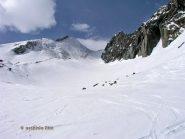 Parte alta del vallone di salita.
