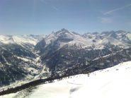 05 - In basso la Val Troncea ed a destra la Rognosa del Sestriere