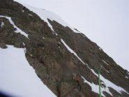 il colletto e a sx  la cima del Malinvern