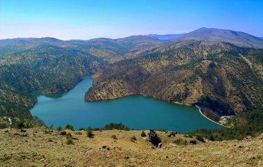 Il Lago Lungo visto dal Bric Nascio
