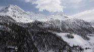 itinerario di discesa su Usellieres dalla Becca di Giasson