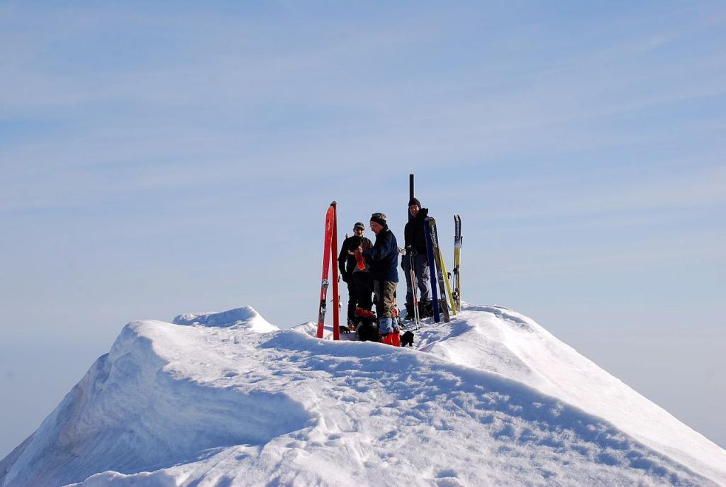 sulla cima del Mongioie 2630 m