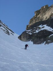 Ultimi tratti con gli sci