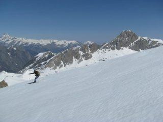 Scendendo dal Monte Bodoira
