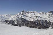 Dalla cima verso il Pic de Rochebrune
