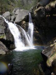 la bella cascata superiore