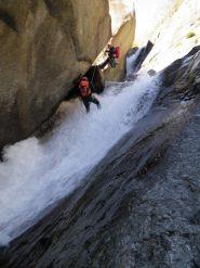 cascata appoggiata