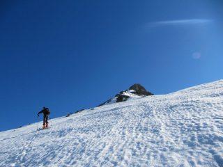 ultimi 100 metri per la cima