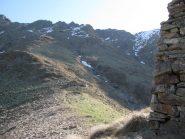 Gr. Crose e versante di salita al Col Naverano