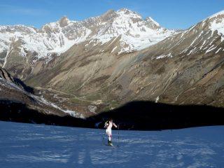 Pendii aperti a quota 2300 mt.