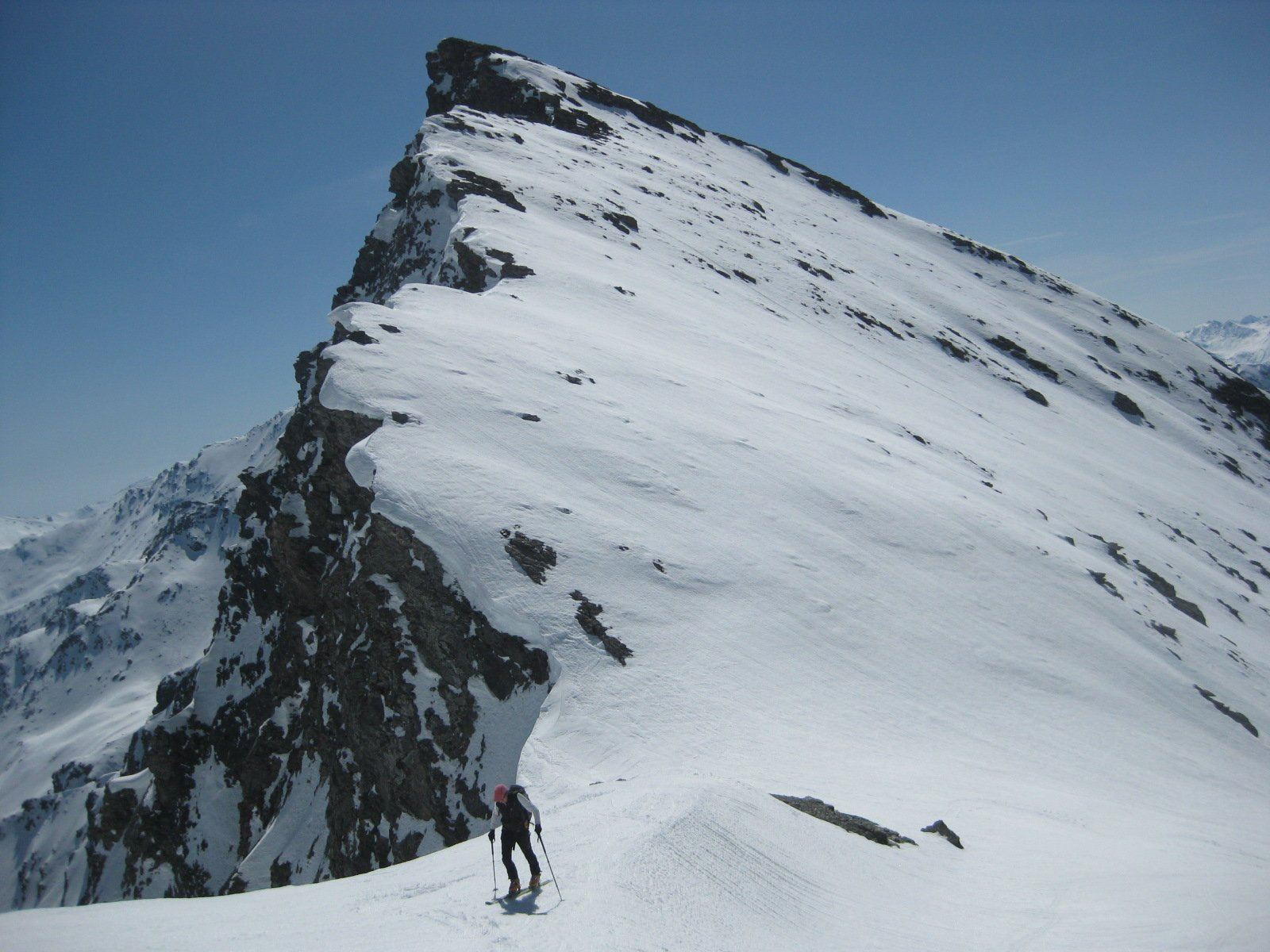 il Colle a quota 3153 m.