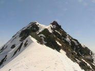 La punta Maritano vista dal Colle