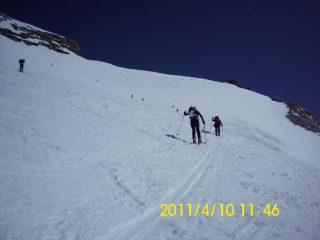 Ultimo pendio (circa 3800 m)