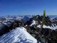 Dietro gli sci la Chiavesso