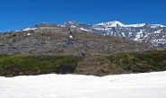 Ultime lingue di neve sotto il Forte Variselle