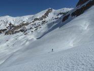 Verso il Mongioie con la cima della Brignola sullo sfondo