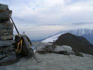 Dal Monte Balur, vista verso il Testas