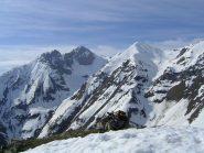 Dal Monte Testas, vista su Bussaia e Servatun