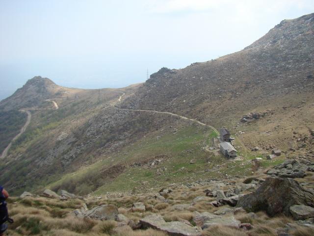 scendendo alla alpe Alpuccio e Cavallaria
