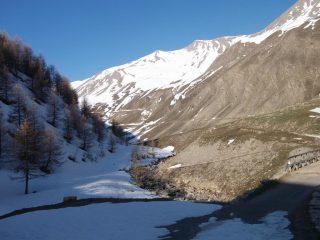 il vallon de Parpaillon e la nostra meta sullo sfondo