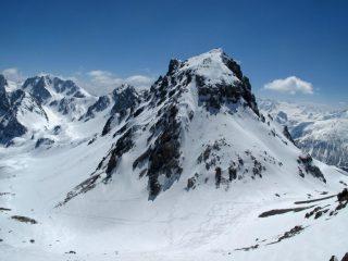 Discesa impegnativa dal Monte Scaletta