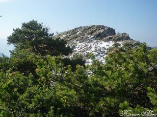 La cima del Monte Corto