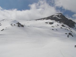 La cima della quota 2693 m