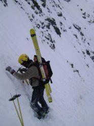 Andrea si crea un attico per calzare gli sci