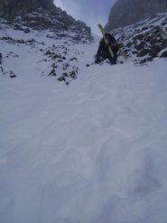 troppo stretto per sciare